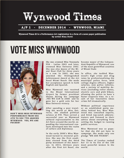 The wynwood times AP edition