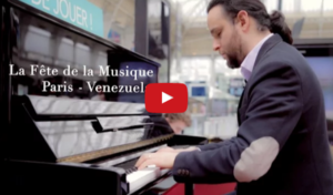 A Message for Venezuela During World Music Day in Paris