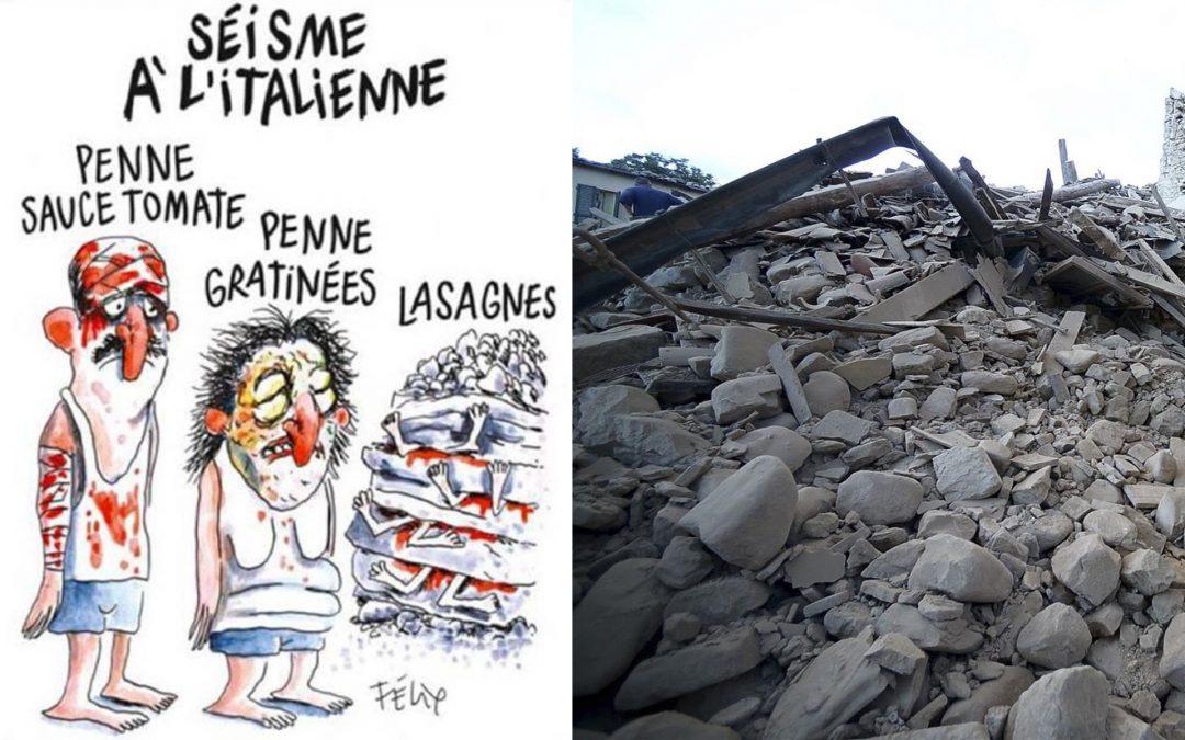 Cartoons as barbarism allies