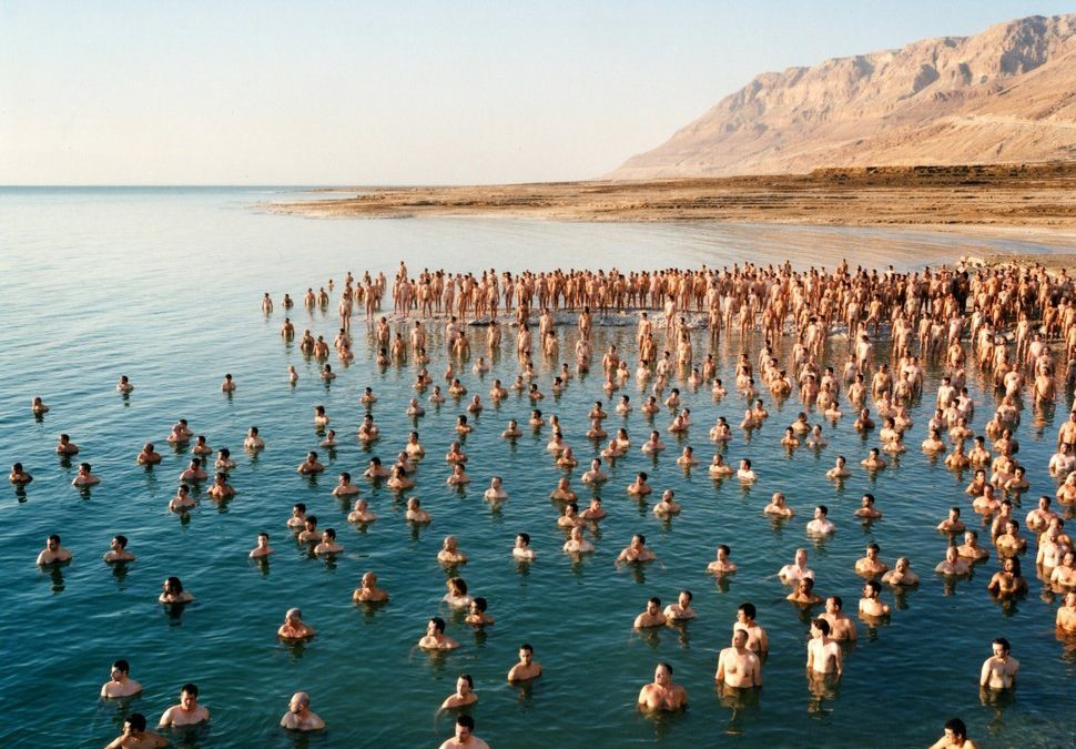 1,200 Israelis Posed Nude At The Dead Sea — Which, Five Years Later, Is Drying Up