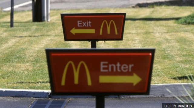 Why did McDonald's flip out of Luxembourg?