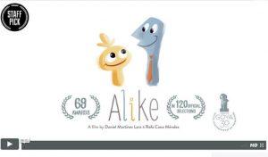 Cortometraje Alike