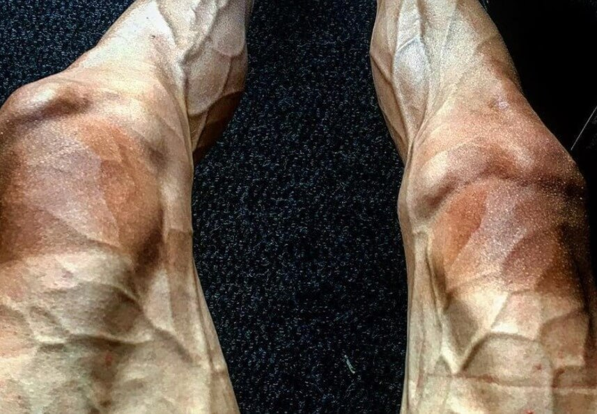 Tour De France Cyclist Shows Off Ridiculously Vascular Legs After 16 Stages