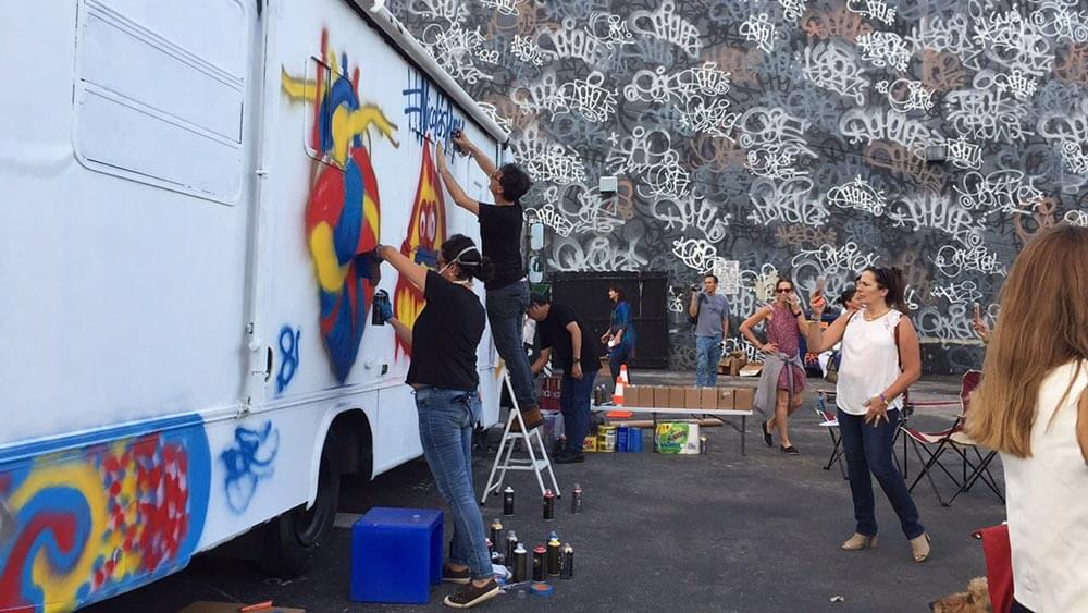 Galería: Un graffiti por Venezuela