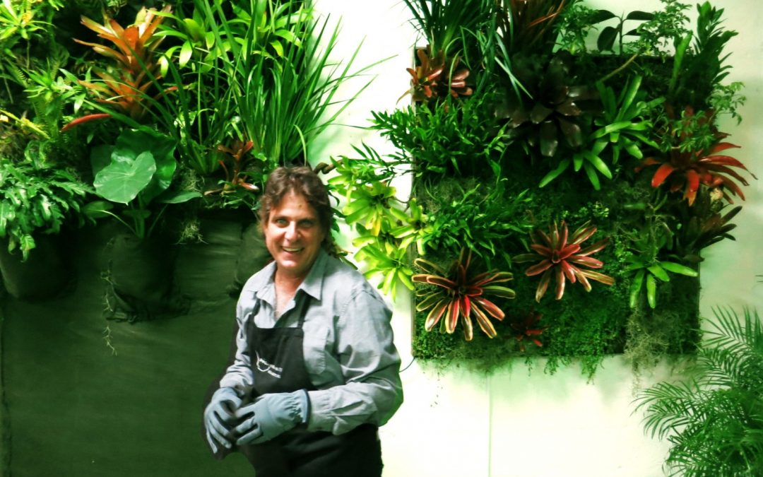 Jardines verticales de Ricardo Gil