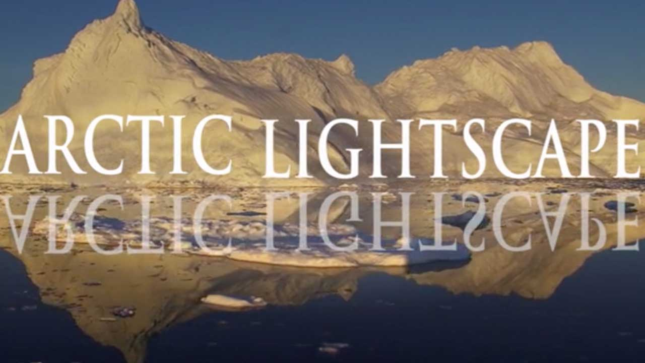 Magnificent Aurora Borealis. Arctic Lightscapes Time-lapses