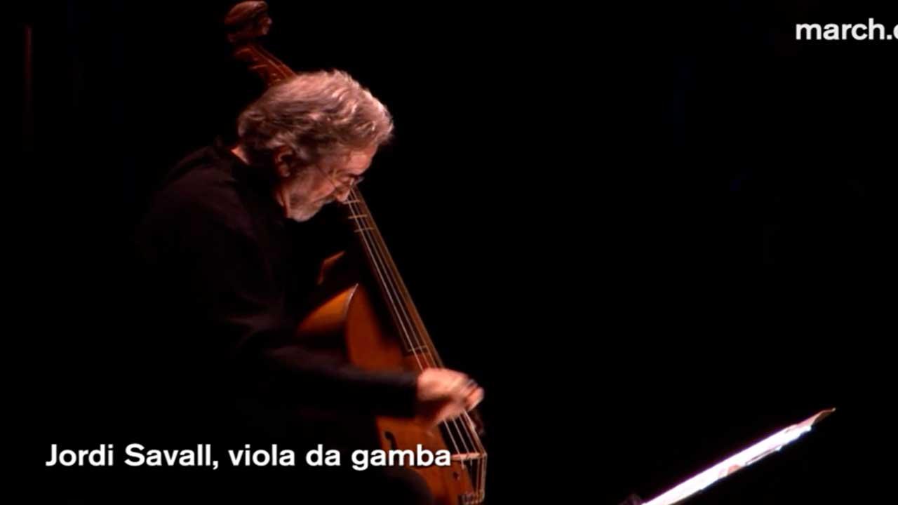 Jordi Savall, viola da gamba