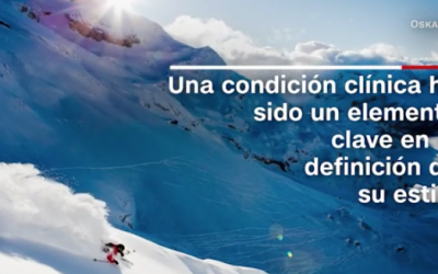 El fotógrafo daltónico que captura la magia del esquí
