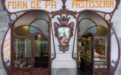 os letreros históricos de Barcelona, un arte que se desvanece