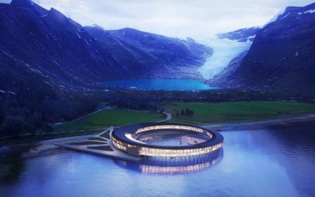 Así será el hotel del Ártico con forma de nave espacial