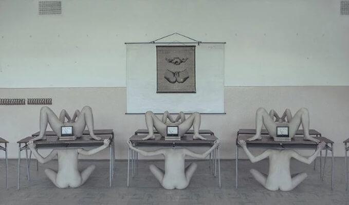 La magnífica, provocativa y desconcertante obra de Evelyn Bencicova