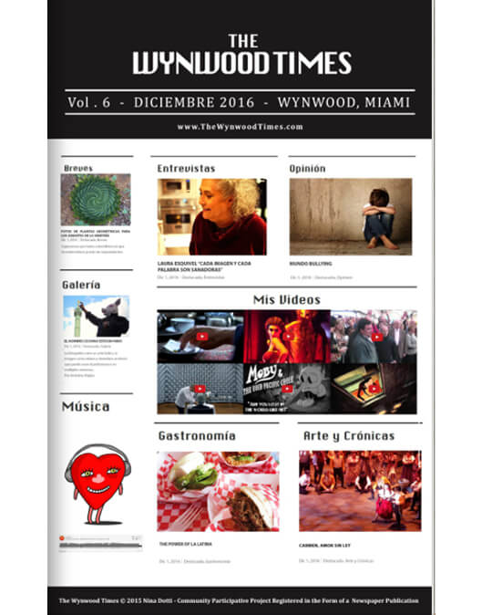 The wynwood times 6th edition