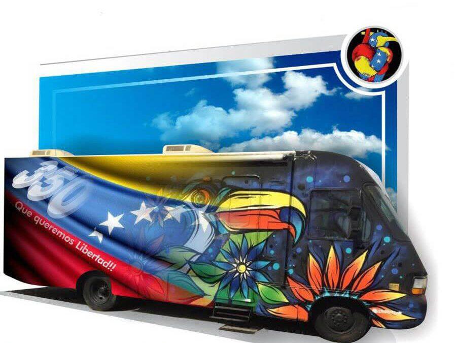 Evento: Un Graffiti por Venezuela, Libertad y Paz