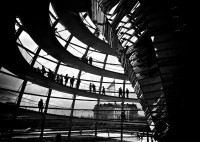 The Reichstag's ups and downs