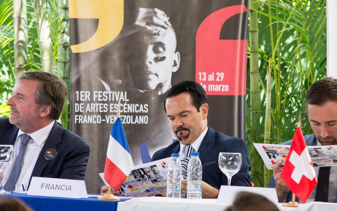 Llega el 1er Festival de Artes Escénicas Franco Venezolano