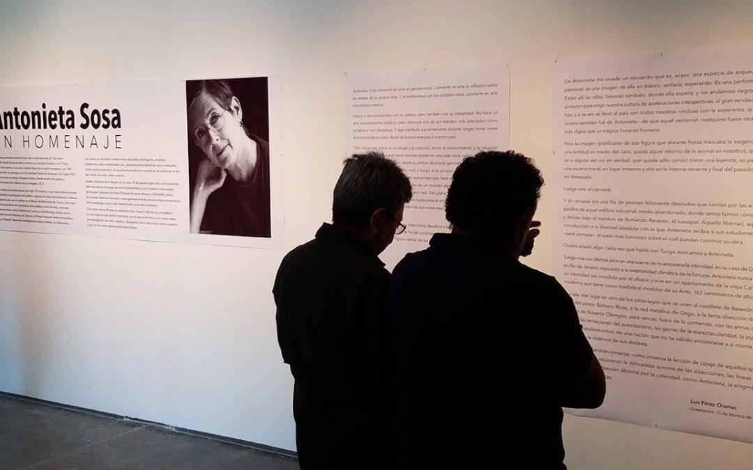 Antonieta Sosa: un homenaje