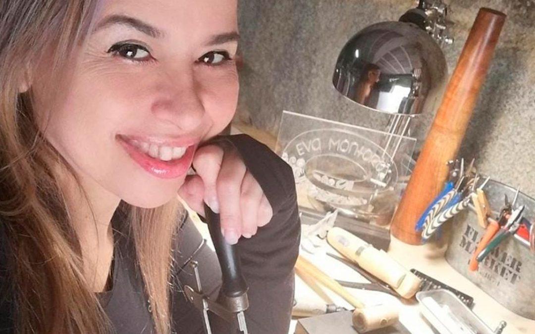 Eva Montoro: Arte recuerdos y sitios favoritos hechos joyería