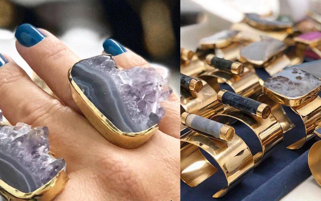 Georgina Doumat, pasión por las piedras