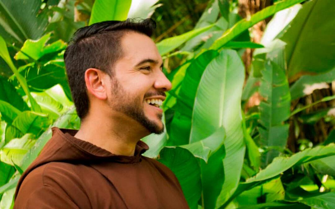 """Fray Luis Antonio Salazar: """"Yo no soy un artista, yo soy un religioso""""."""