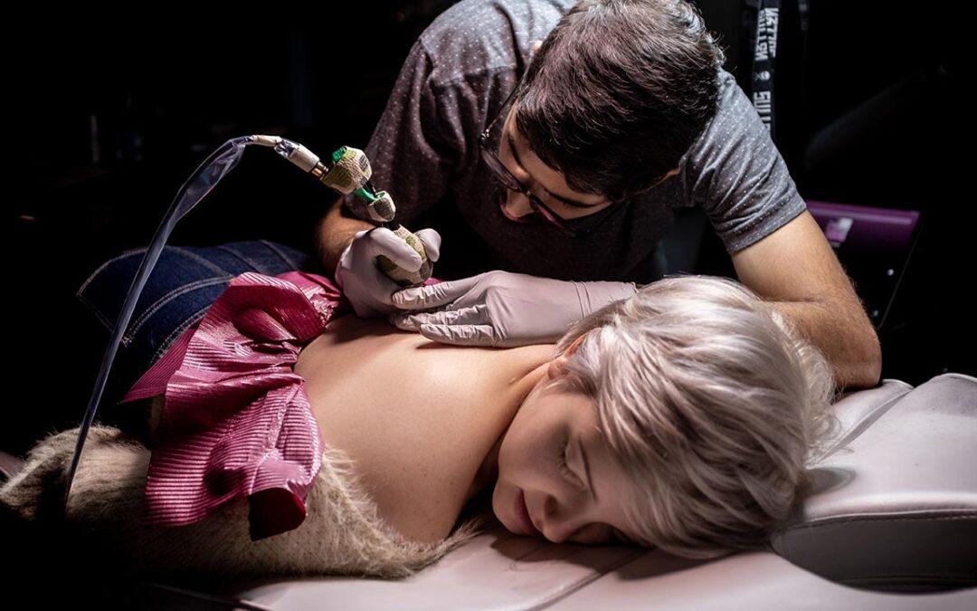 Germán Gamboa, el arte del tattoo y sus posibilidades