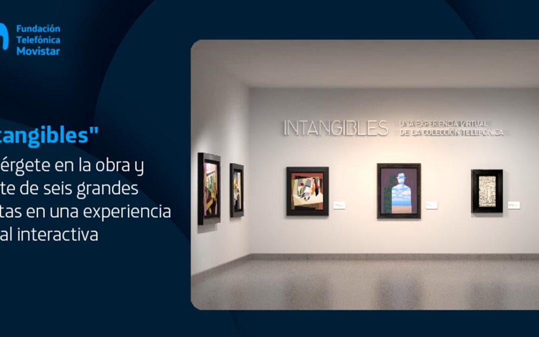 """Con """"Intangibles"""" la Fundación Telefónica Movistar reúne a los grandes del arte en el mundo digital"""