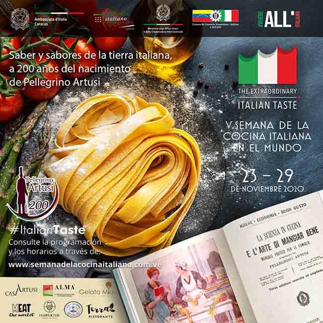 La Semana de la Cocina Italiana en el Mundo