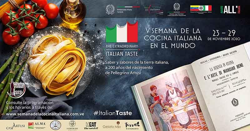 V Semana de la Cocina Italiana en el Mundo