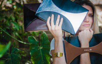 Karina Iglesias, la periodista que se entregó al diseño de carteras y joyas