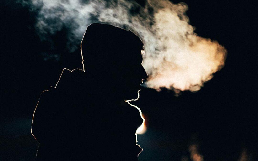 El humo y la caída