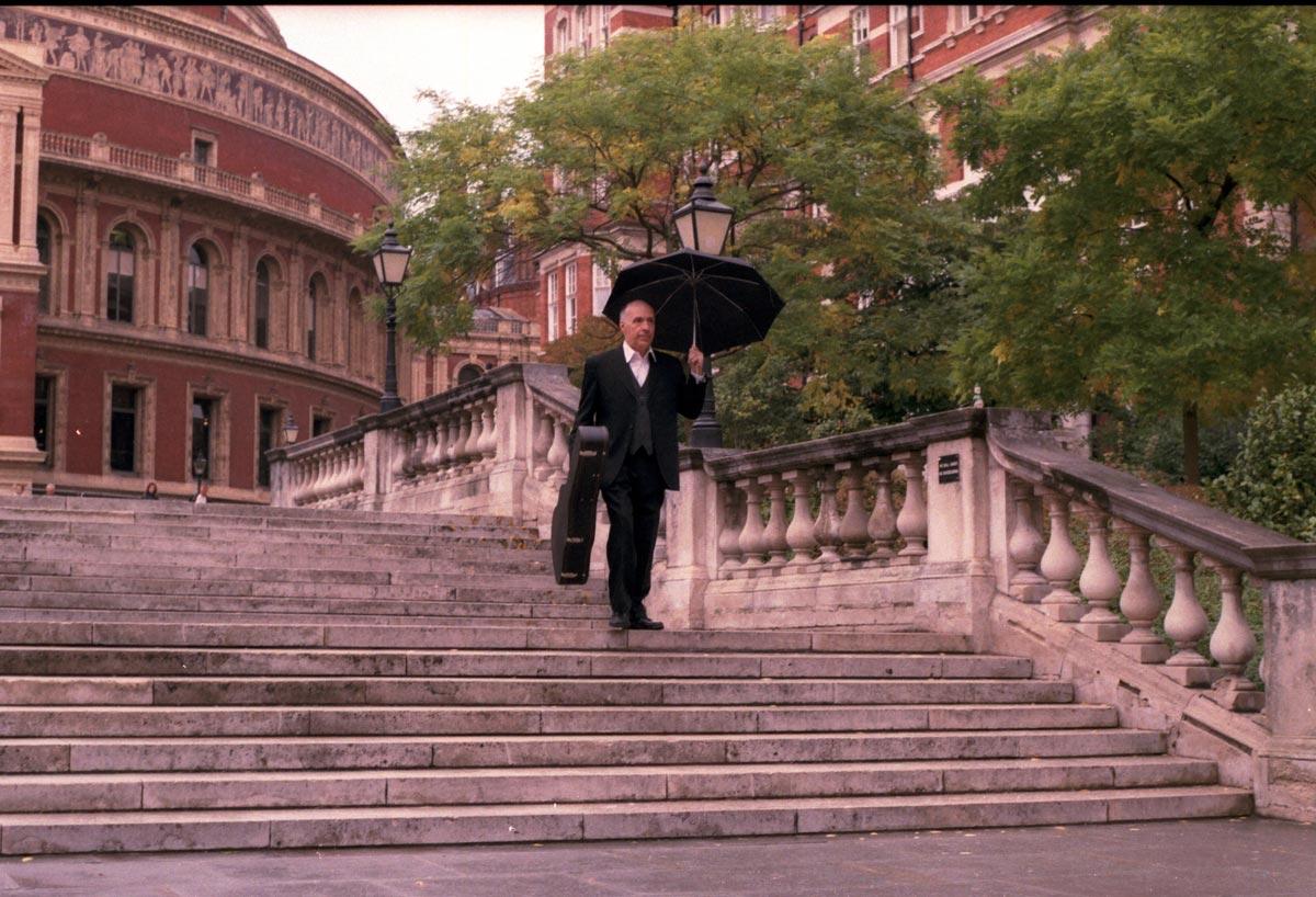 Carlos Bonell en el the Royal Albert Hall (2010)