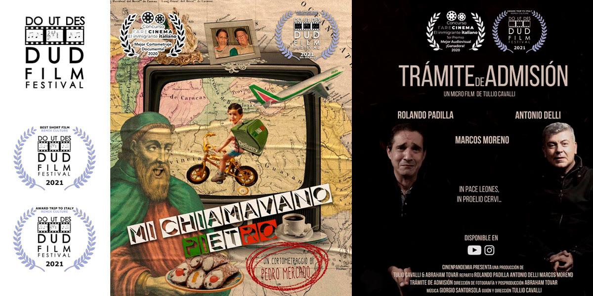 cortos venezolanos triunfan en Do Ut Des Film Festival