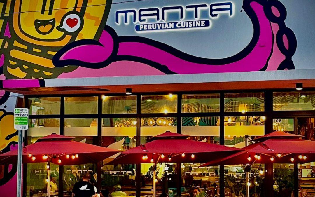 Manta, lo mejor de la comida auténtica peruana llega a Wynwood