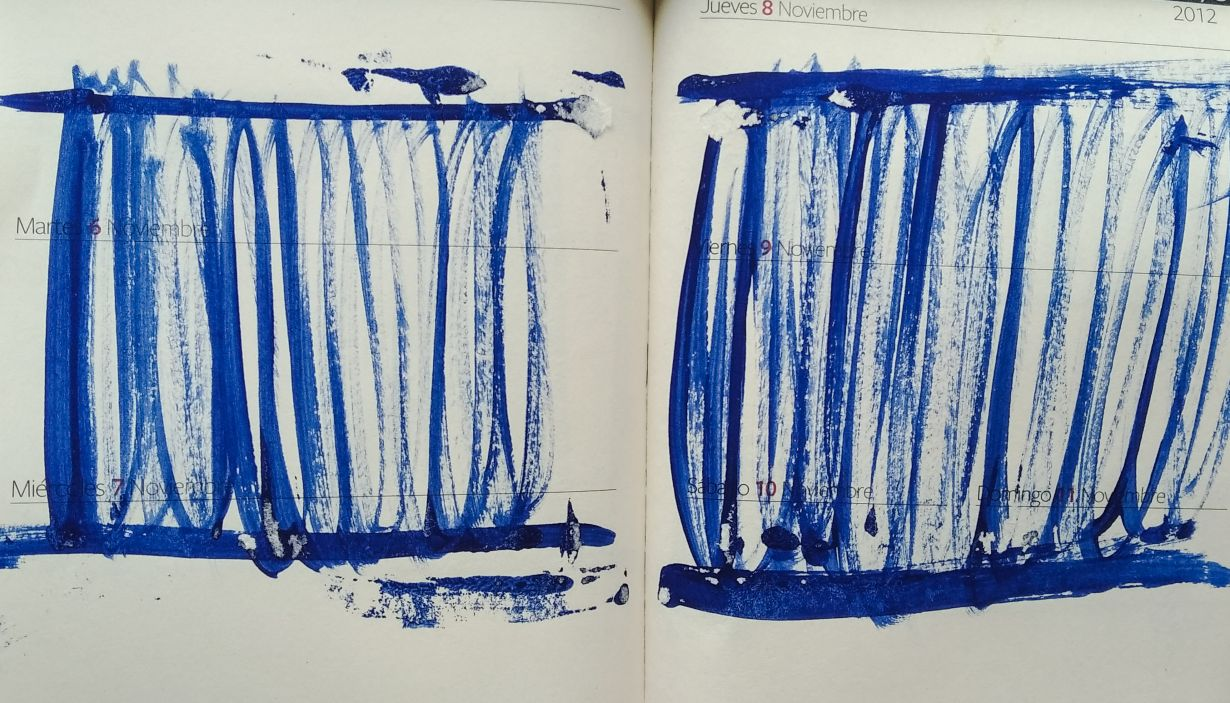 Dibujo sobre papel - George Lavarca