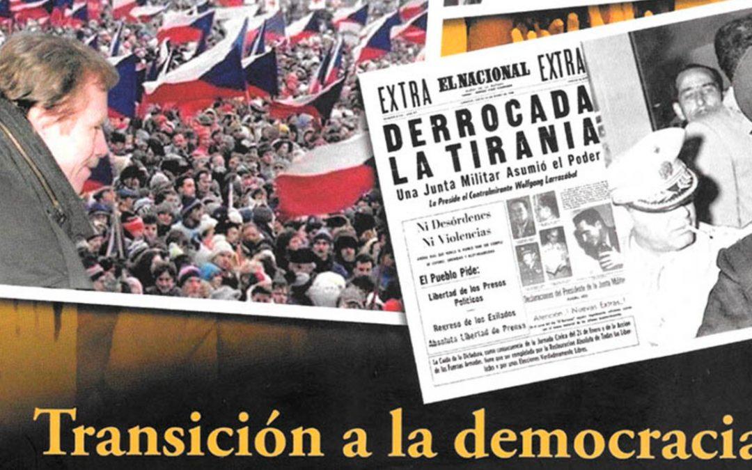 """Kálathos presenta """"Transición a la democracia"""", de Alejandro Arratia Guillermo"""