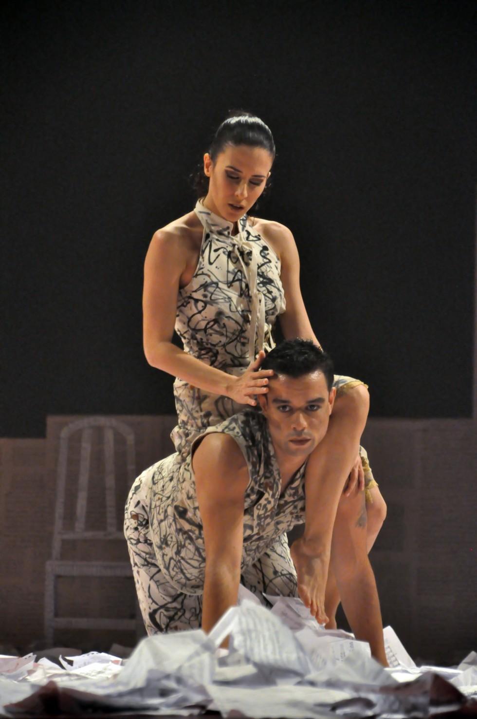 "Pieza de danza ""Soneto de un Sueño"". Coreógrafa: Luz Urdaneta. Fotografía: Emilio Ramón Méndez."