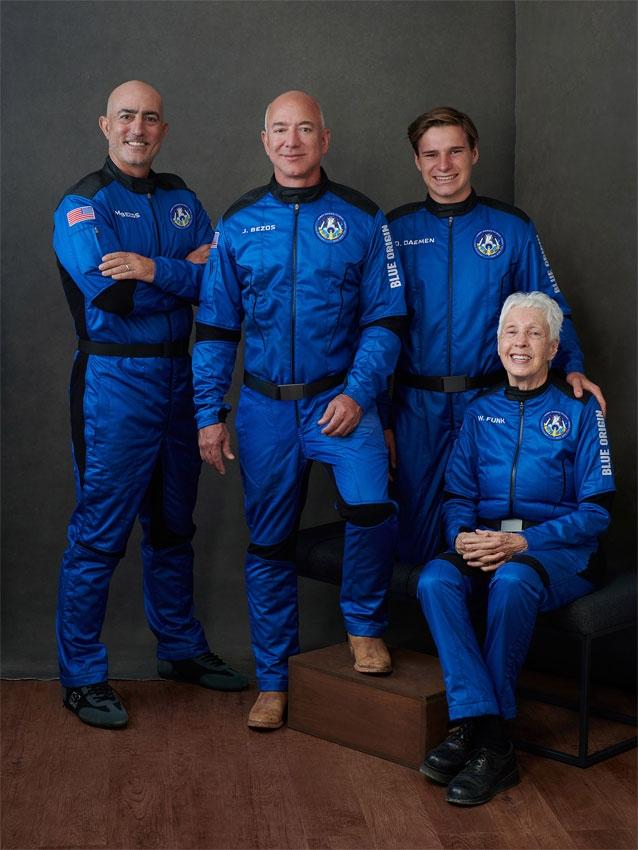 Jeff Bezos - Foto Blue Origin