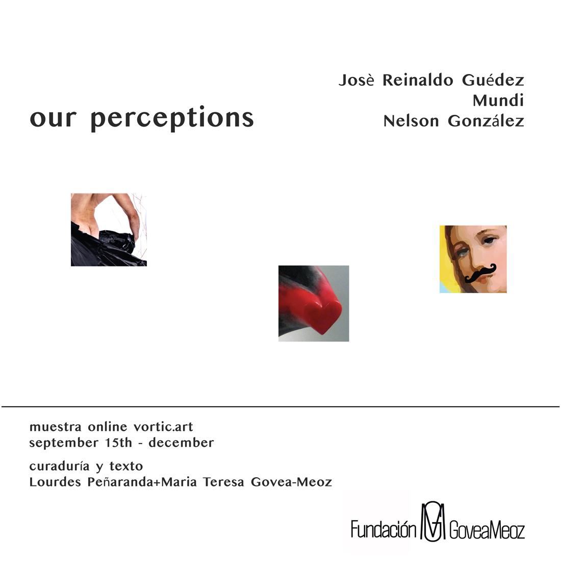 Our Perceptions - invitación