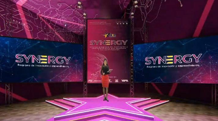 Parte de los escenarios de realidad virtual del Programa Synergy.
